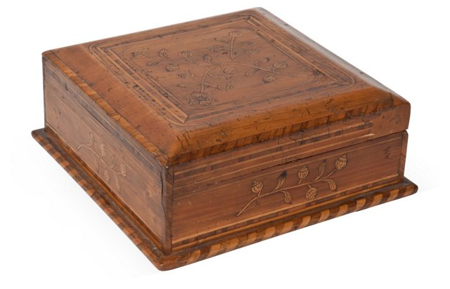 Mexican Marquetry Box