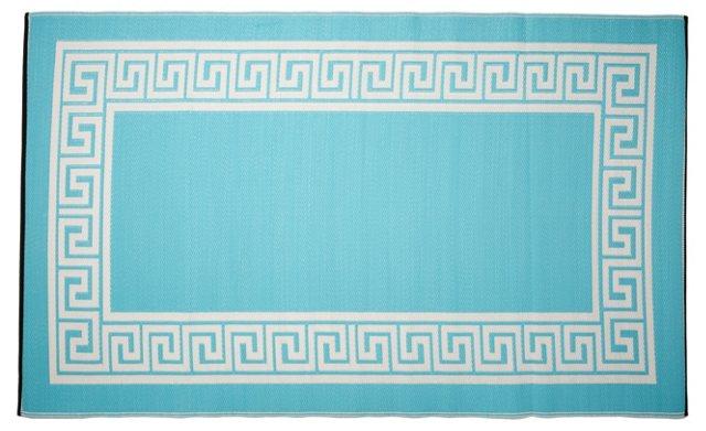 Athens Beach Mat, Blue