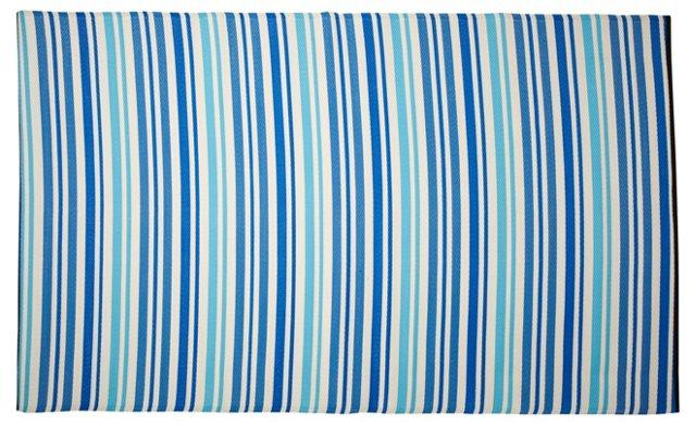 Stripe Beach Mat, Blue