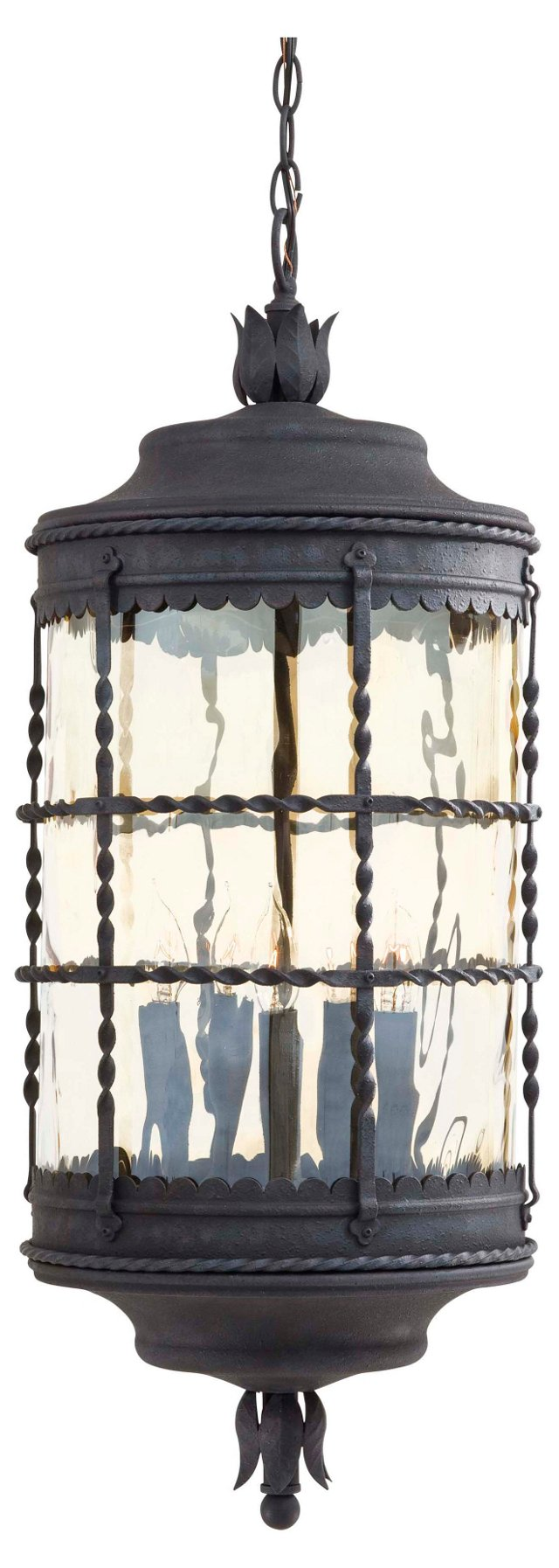 Mallorca 5-Light Hanging Lantern, Iron