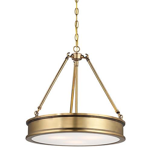 Harrison 3-Light Pendant, Gold