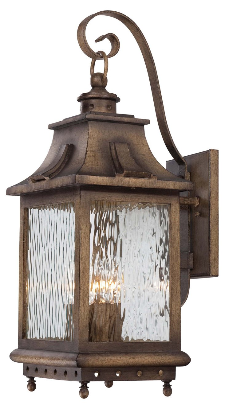 Wilshire 4-Light Wall Lantern, Large
