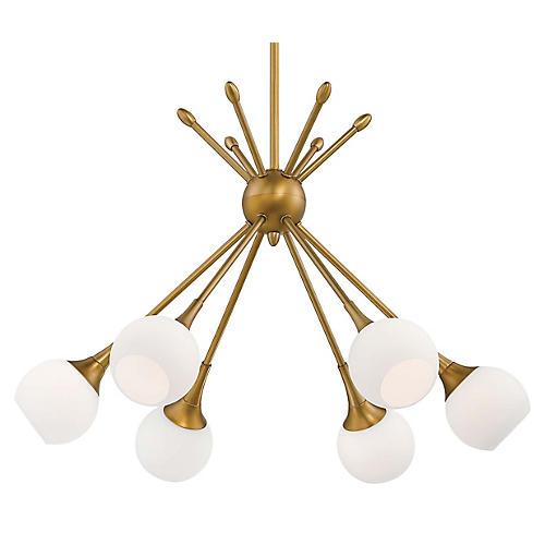 Pontil 6-Light Chandelier