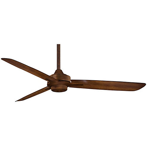 Aire Rudolph Ceiling Fan, Koa