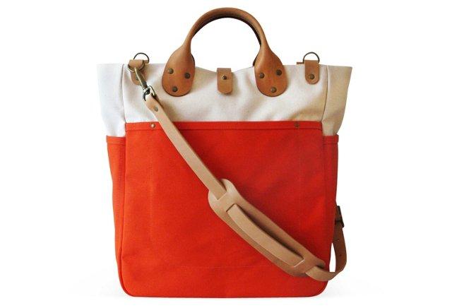 Garrison Bag, Natural/Flame