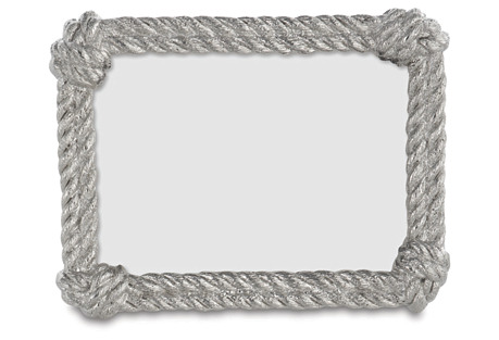 Rope 4x6 Frame, Silver