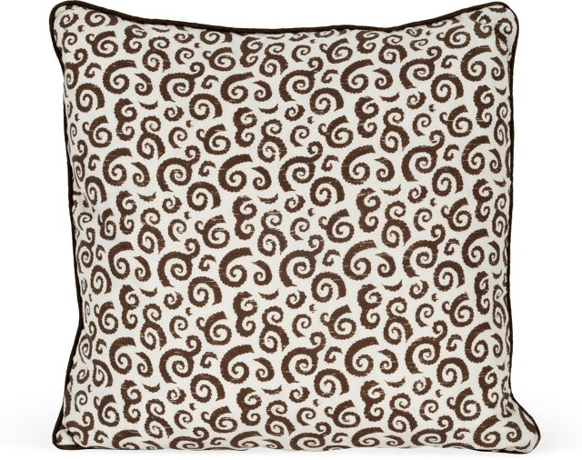 MLB Bodrum Pillow, Brown
