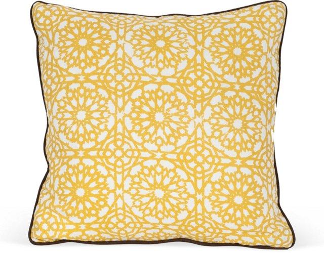 MLB Mamounia Petite Pillow, Saffron