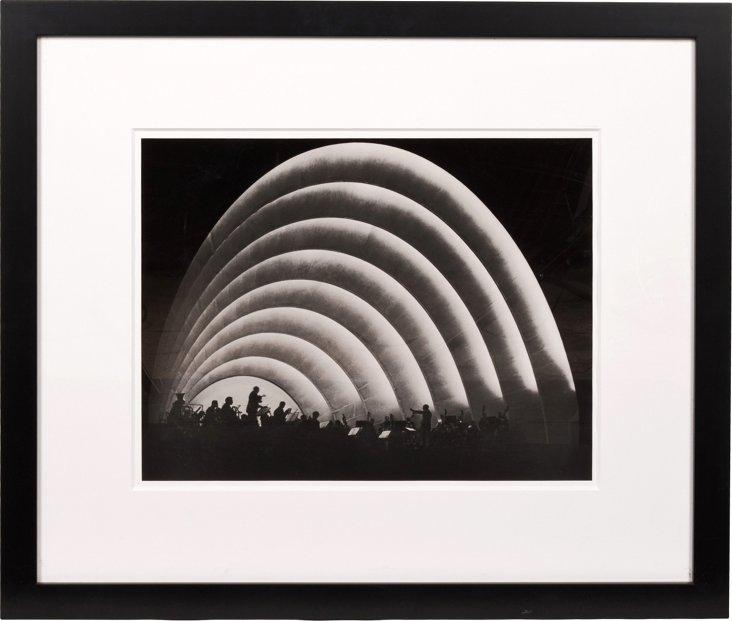 Framed Photograph, Hollywood Bowl