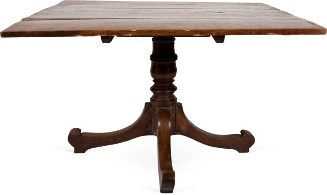 Antique English Breakfast Table