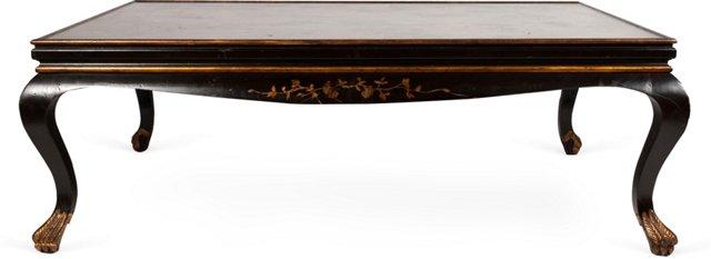 Custom Chinoiserie Coffee Table