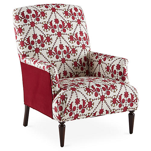 Barrymore Accent Chair, Berry Kota
