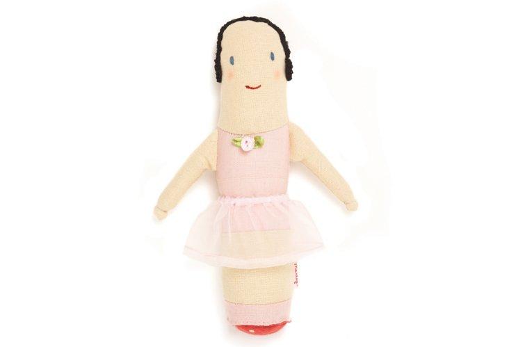 Ballerina Baby Rattle