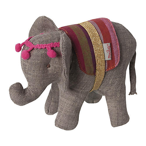 Circus Elephant, Gray/Multi