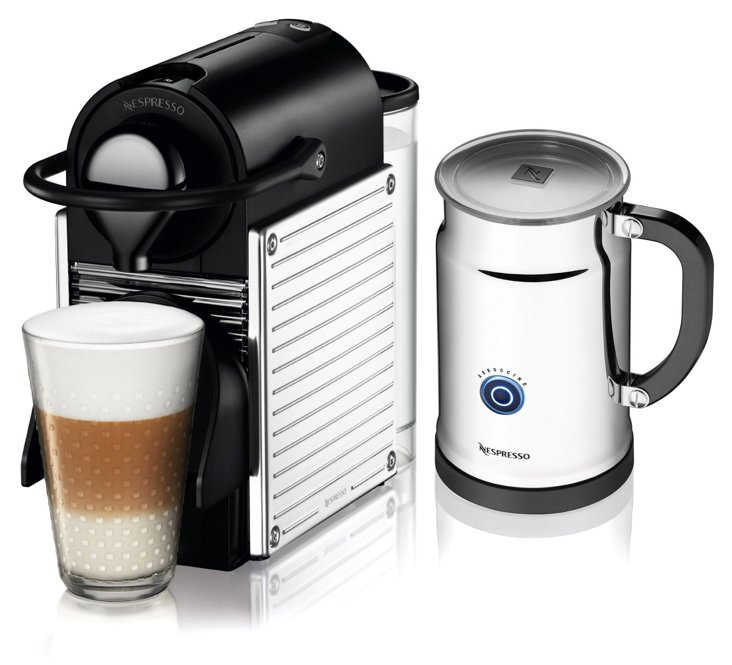 Pixie C60 Espresso Maker w/ Frother