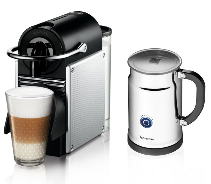 Pixie D60 Espresso Maker w/ Frother