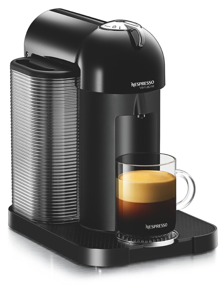 VertuoLine Coffee Maker, Black