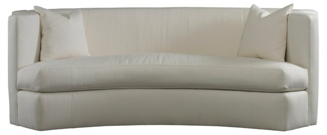 "Arc 99"" Sofa, White"