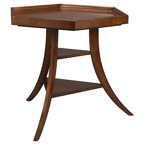 Cushing Hex Side Table