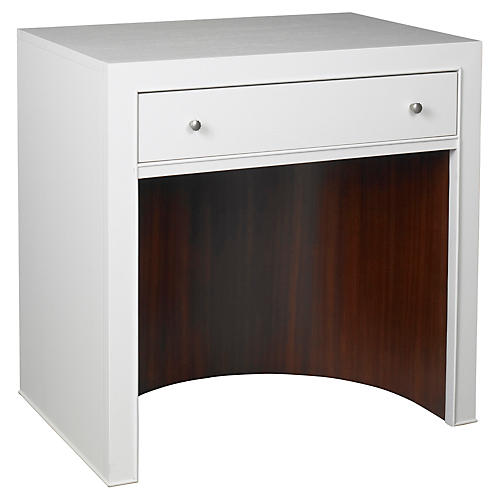 Atlantic Nightstand, White