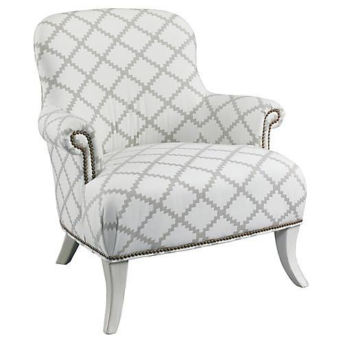 Nellies Club Chair, Natural