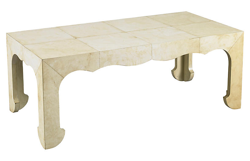 Paris coffee table cream mr mrs howard brands one for Large cream coffee table