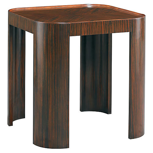 Outlay Side Table, Ebony