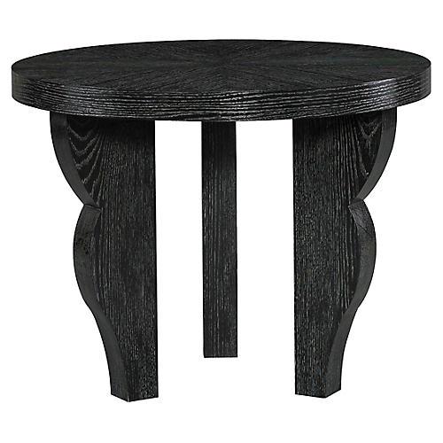 Dudley Side Table, Ebony