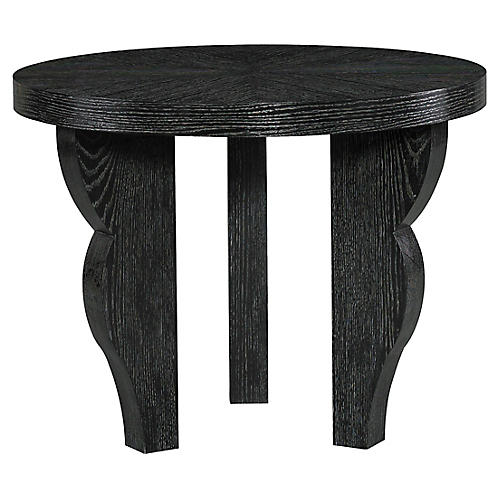 Dudley Side Table, Ebony