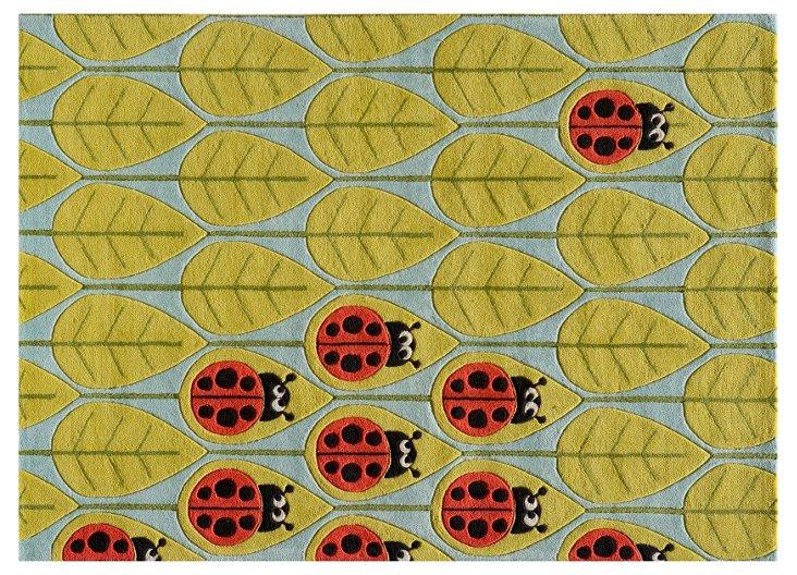 Ladybug Rug, Multi