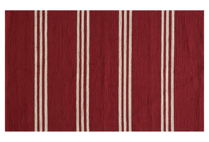 Payson Outdoor Rug, Red