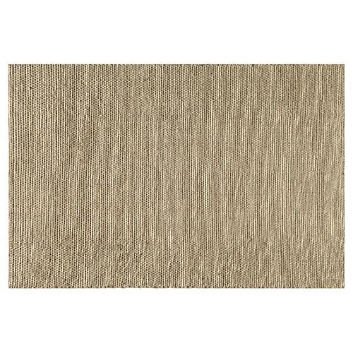 Hilda Flat-Weave Rug, Natural