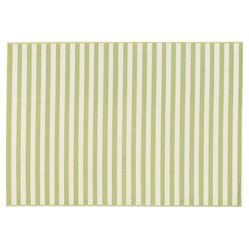 Milos Outdoor Rug, Green