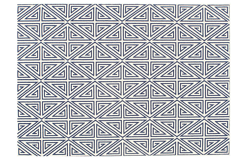 Pori Outdoor Rug - Navy