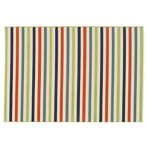 Milos Outdoor Rug, Multi