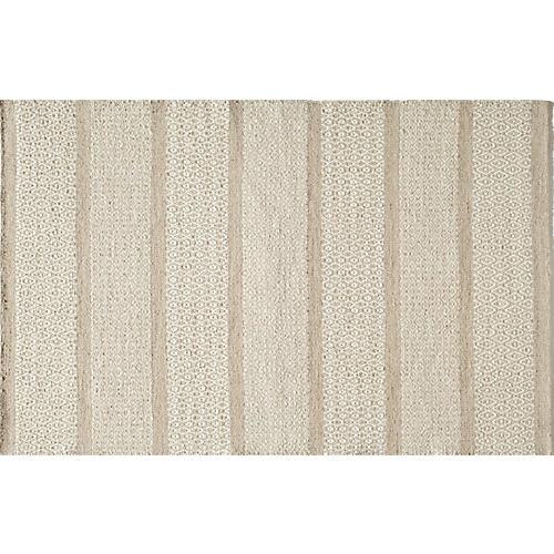 Dillon Flat-Weave Rug, Beige