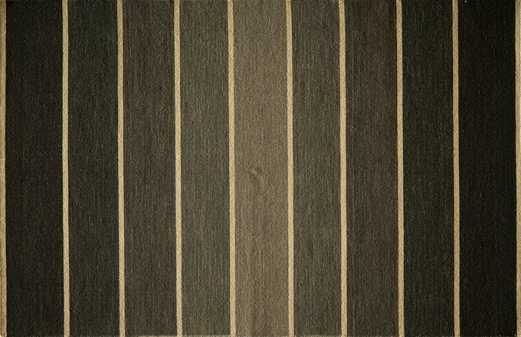 Mac Flat-Weave Rug, Brown