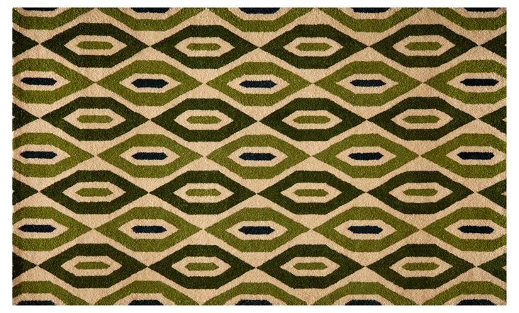 5'x8' Habitat Rug, Green/Multi