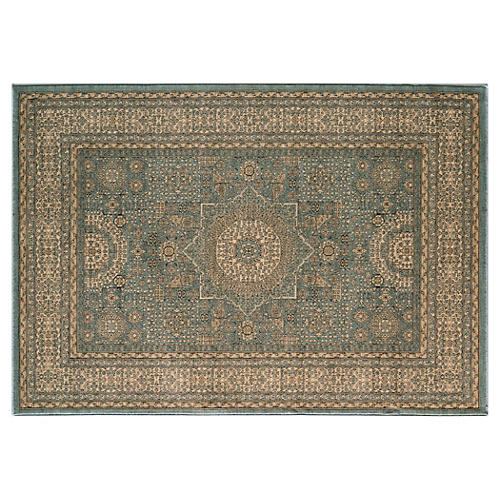 Ramis Rug, Light Blue