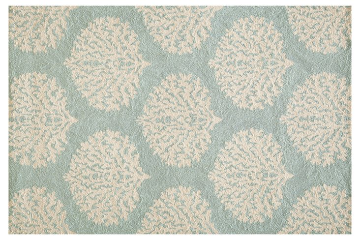 Kelly Outdoor Rug, Blue