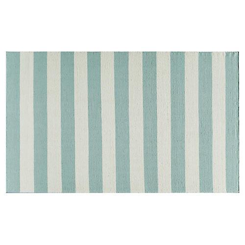 Miami Flat-Weave Rug, Blue