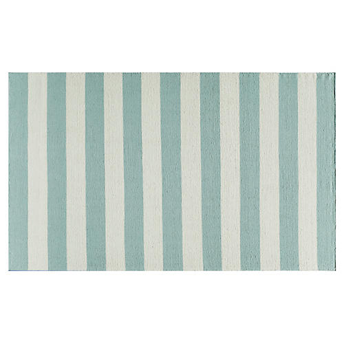 Miami Flat-Weave Rug, Blue