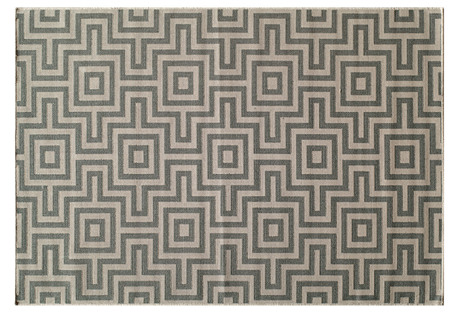 Myrtos Outdoor Rug, Gray