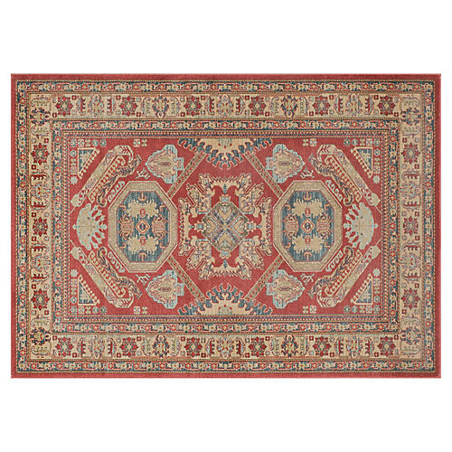 Aina Rug, Red