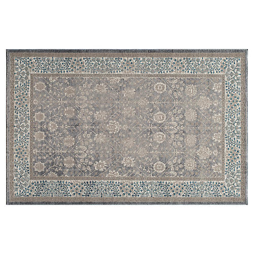 Tremont Rug, Silver