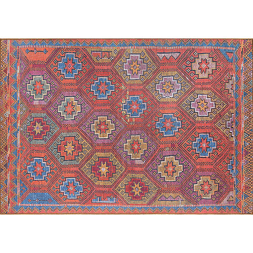 Nour Rug, Red/Multi
