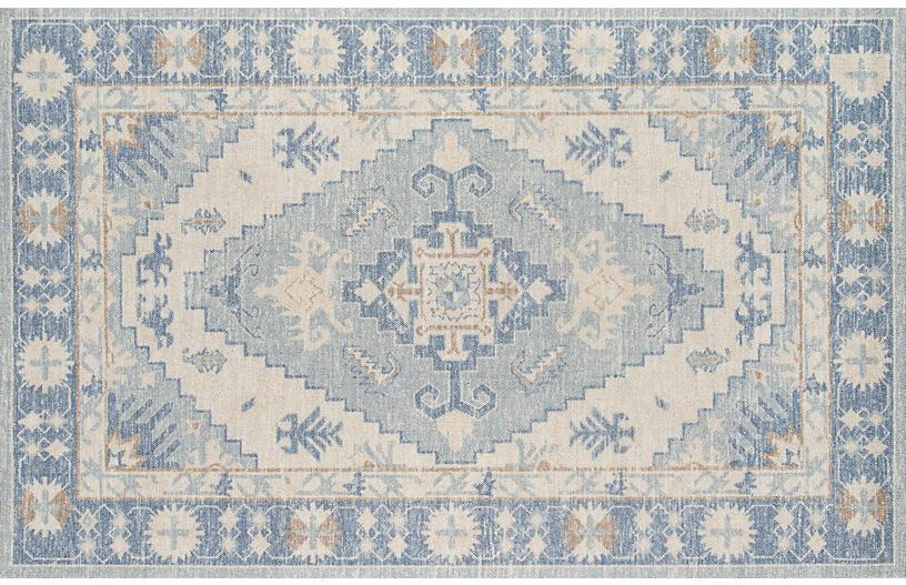 Colette Rug, Blue