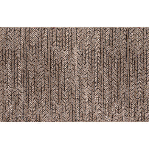 Rivile Outdoor Rug, Brown/Black