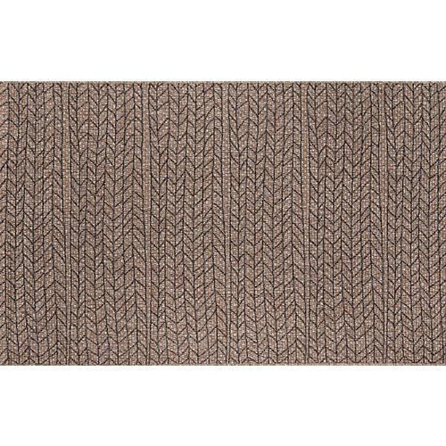 Rivile Outdoor Rug, Brown/Black