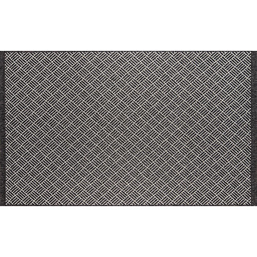 Rempili Outdoor Rug, Black/White